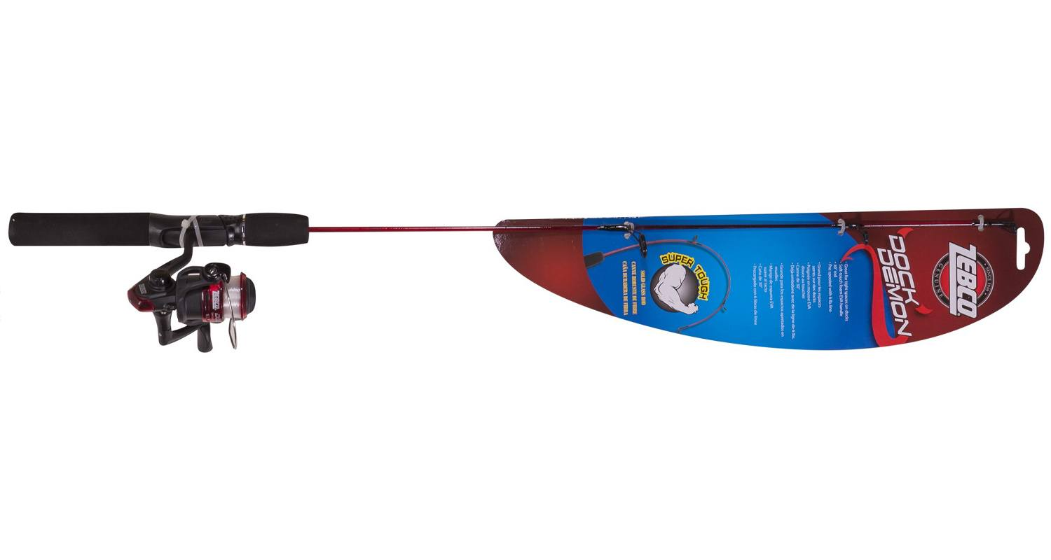 Zebco Fishing Dock Demon Kids Fishing Pole