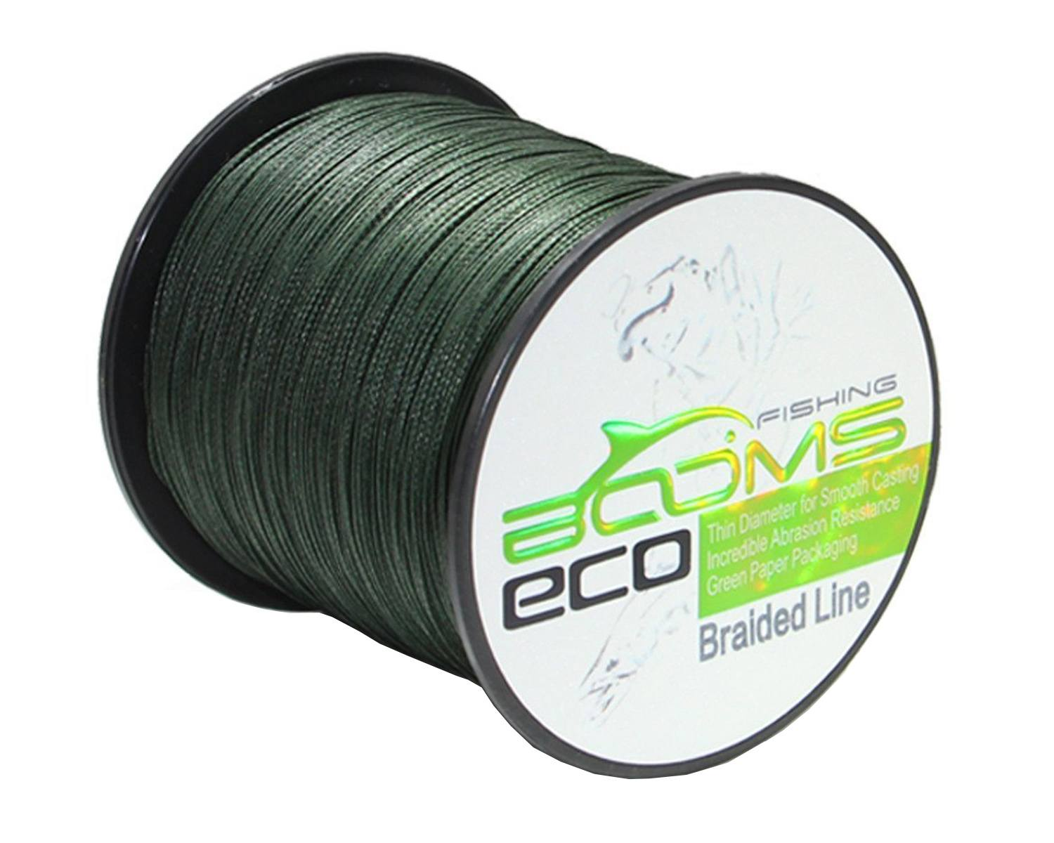 Booms Fishing ECO 100_ UHMWPE Braided Fishing Line