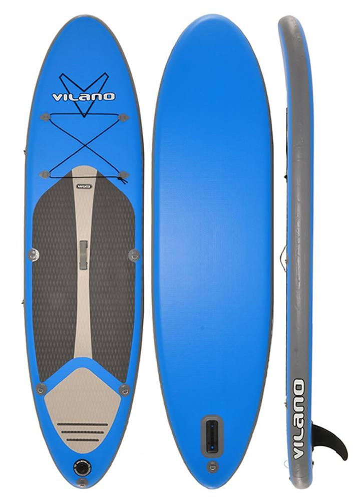 Vilano Navigator Inflatable fishing SUP Stand Up Paddle Board