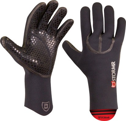 STORMR Typhoon Neoprene Glove, Color: Black, Size: L (RXG30N-01-L)